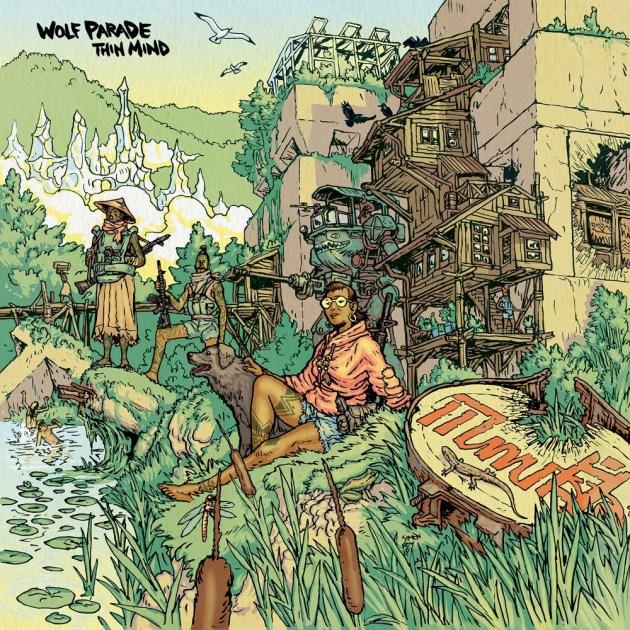 Thin Mind - Wolf Parade - Musik - ALTERNATIVE - 0044003216471 - 31/1-2020