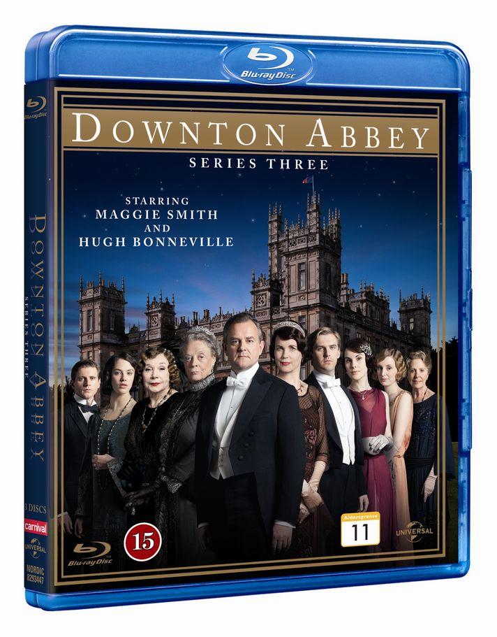 Downton Abbey - Sæson 3 - Series - Film - CARNIVAL EXTERNAL TERRESTRIAL - 5050582934472 - May 28, 2013