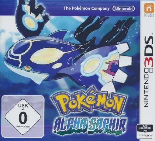 Pokémon Alpha Saphir,3DS.2227240 -  - Bøger -  - 0045496526474 -