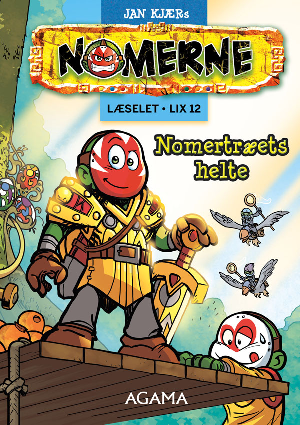 Nomerne: Nomerne: Nomertræets helte - lix12 - Jan Kjær - Bøger - Agama - 9788793231481 - 20/8-2017
