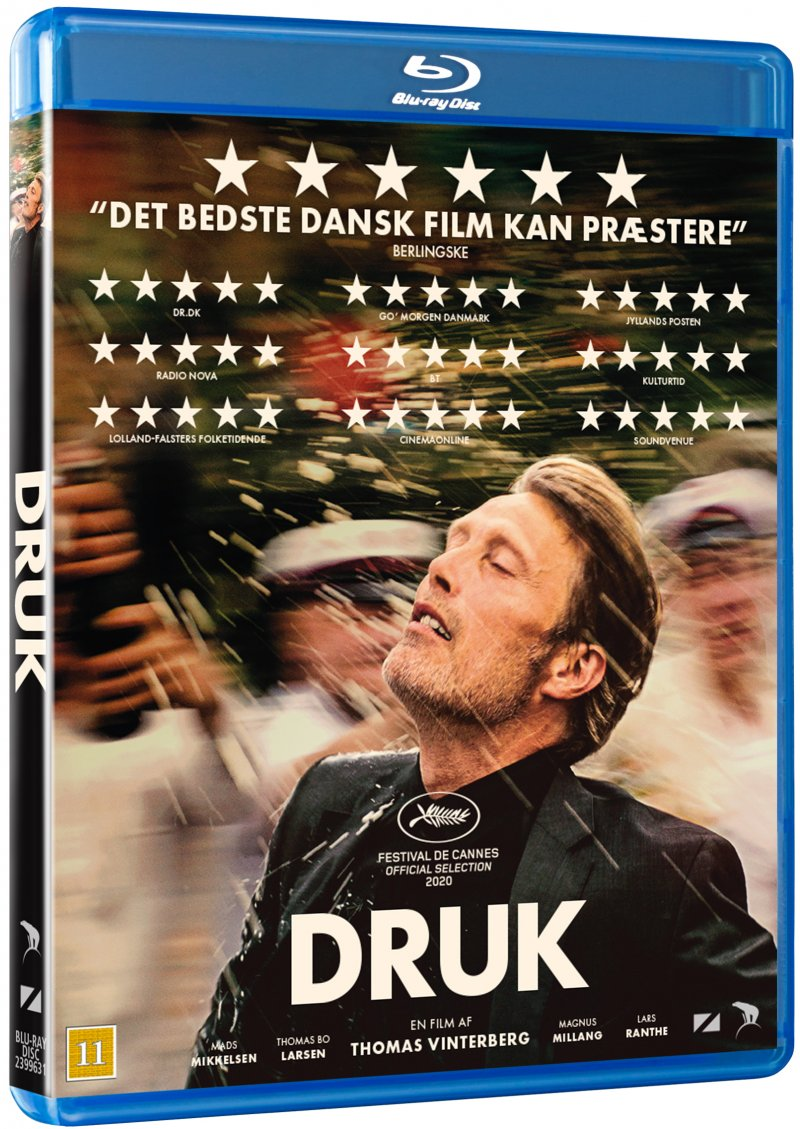 Druk - Thomas Vinterberg - Film - Nordisk Film - 5708758725484 - 8. januar 2021