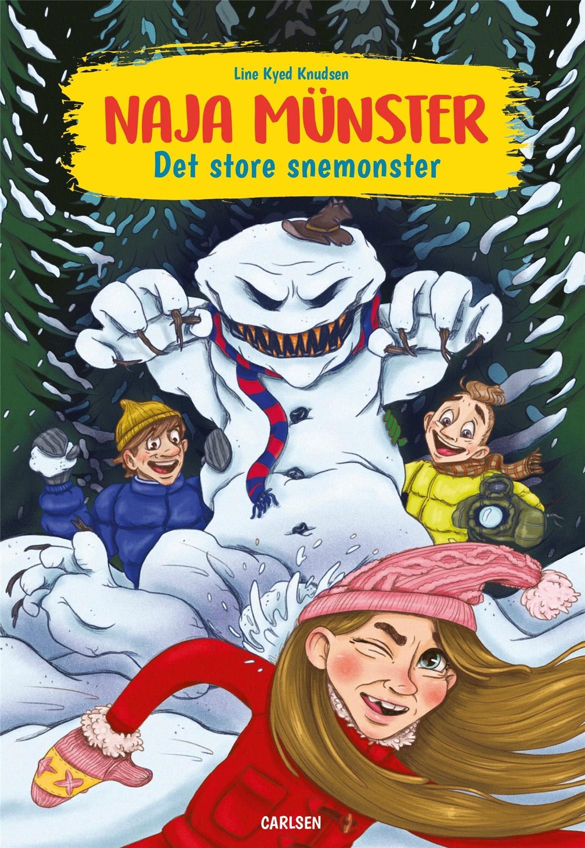 Naja Münster: Naja Münster - Det store snemonster - Line Kyed Knudsen - Bøger - CARLSEN - 9788711983485 - 5/5-2020