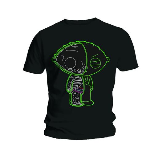 Family Guy Unisex Tee: Stewie X-ray - Family Guy - Merchandise - Unlicensed - 5023209415487 -