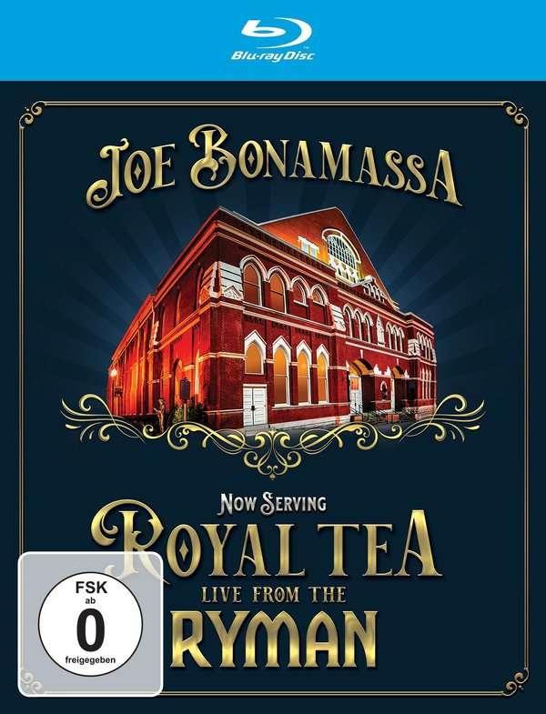 Now Serving: Royal Tea Live from the Ryman - Joe Bonamassa - Musik - PROVOGUE - 0810020504491 - June 11, 2021
