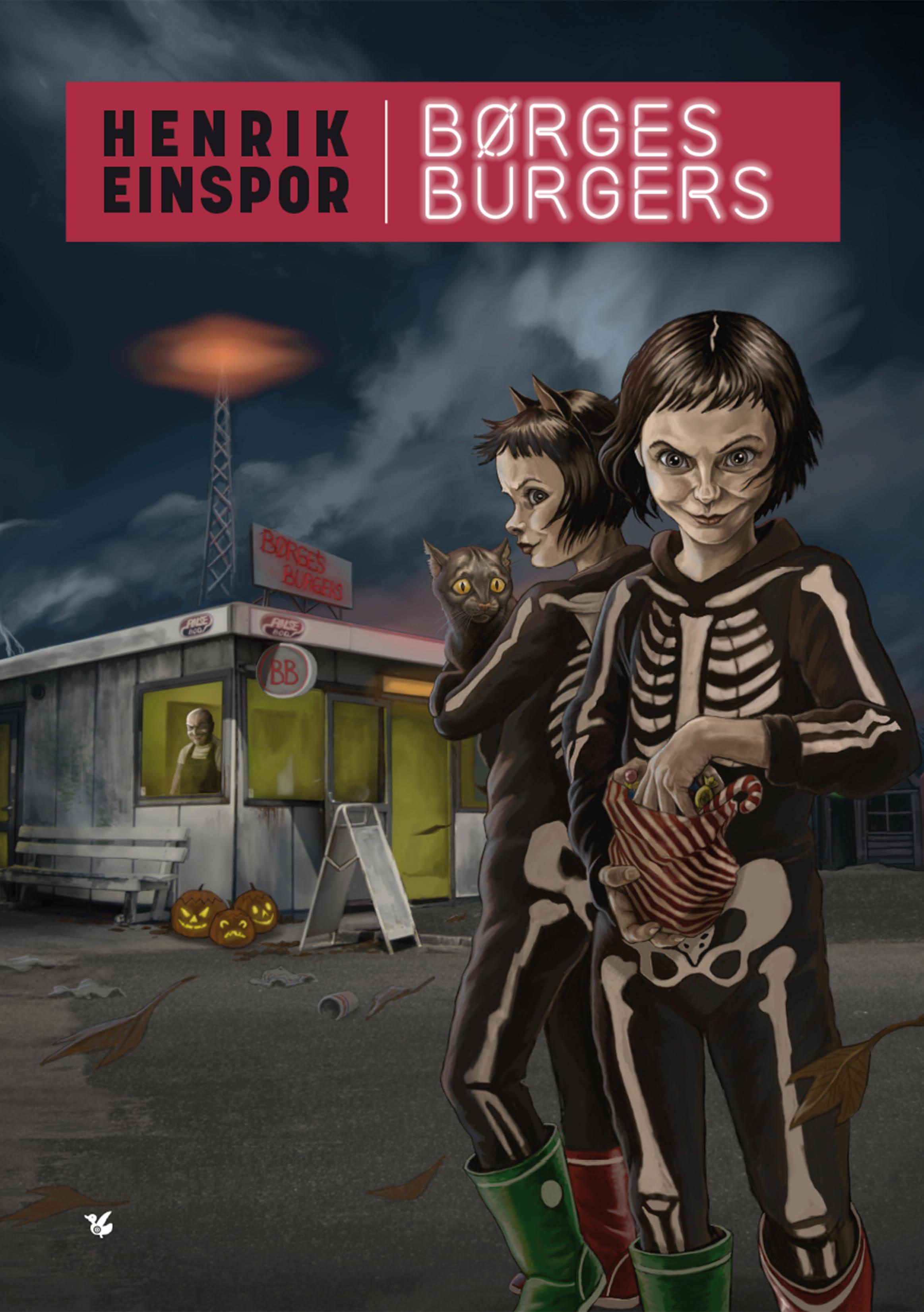 Børges burgers - Henrik Einspor - Bøger - Løse Ænder - 9788793636491 - 28/6-2019