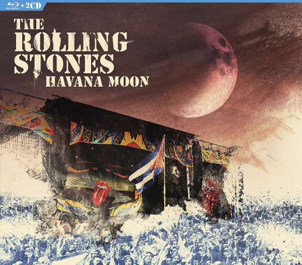 Havana Moon - The Rolling Stones - Musik - MUSIC VIDEO - 0801213355495 - 11/11-2016