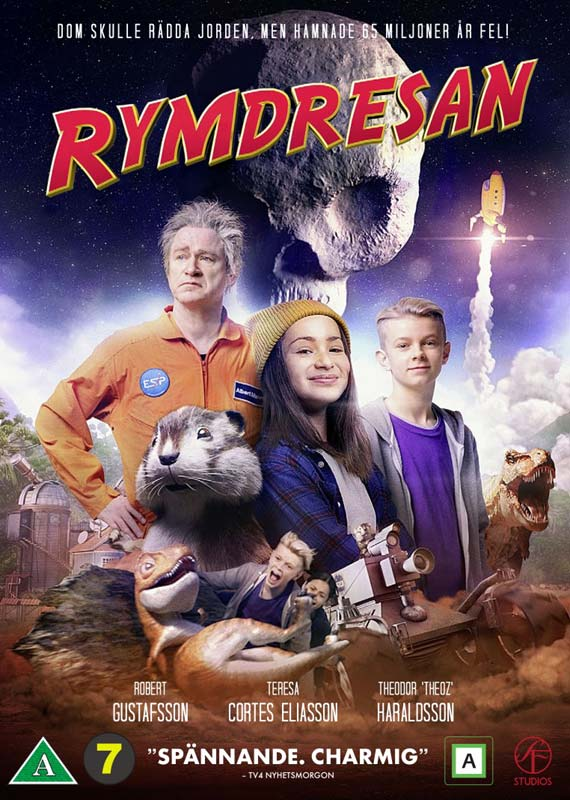 Rumrejsen -  - Film - SF Studios - 7333018017498 - 11/1-2021