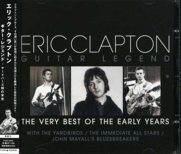 Guitar Legend - Very Vest of T - Eric Clapton - Musik - 1P-VINE - 4995879026502 - July 6, 2021
