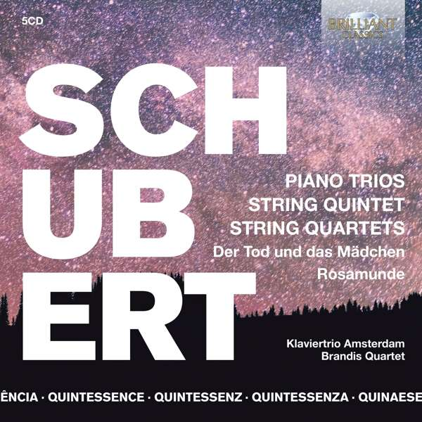 Piano Trios, String Quintets, String Quartets - Klaviertrio Amsterdam / Brandis Quartet - Musik - BRILLIANT CLASSICS - 5028421961507 - September 4, 2020