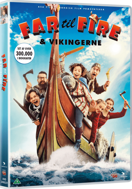 Far til fire og vikingerne -  - Film -  - 5708758725507 - 12/2-2021