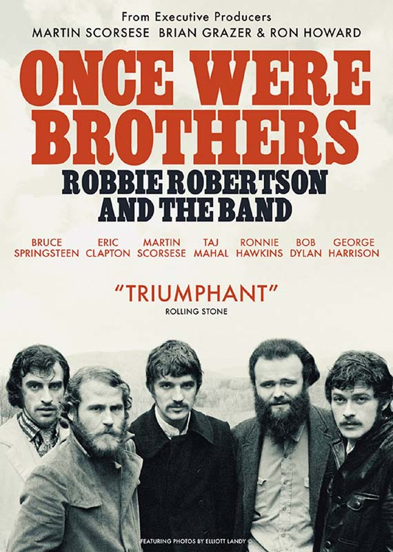 Once Were Brothers: Robbie Robertson and the Band - Documentary - Film - DAZZLER - 5060352309508 - September 11, 2020