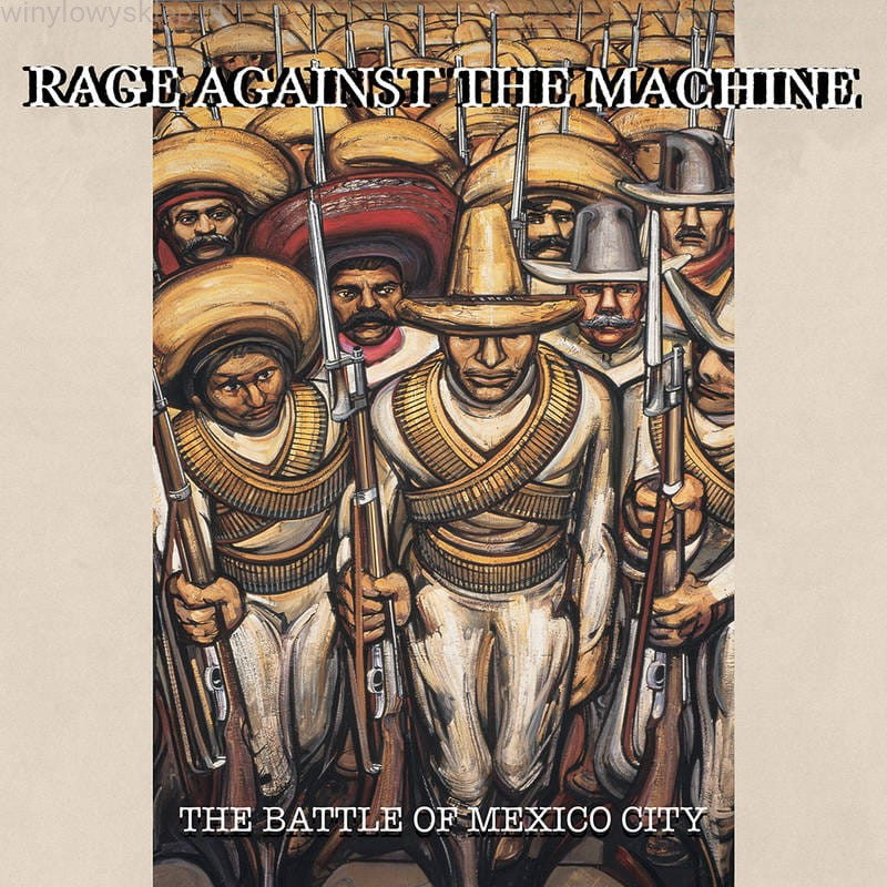 Battle Of Mexico City (Green Translucent / Red Translucent Vinyl) (RSD 2021) - Rage Against the Machine - Musik - LEGACY/ EPIC - 0194398451510 - June 12, 2021