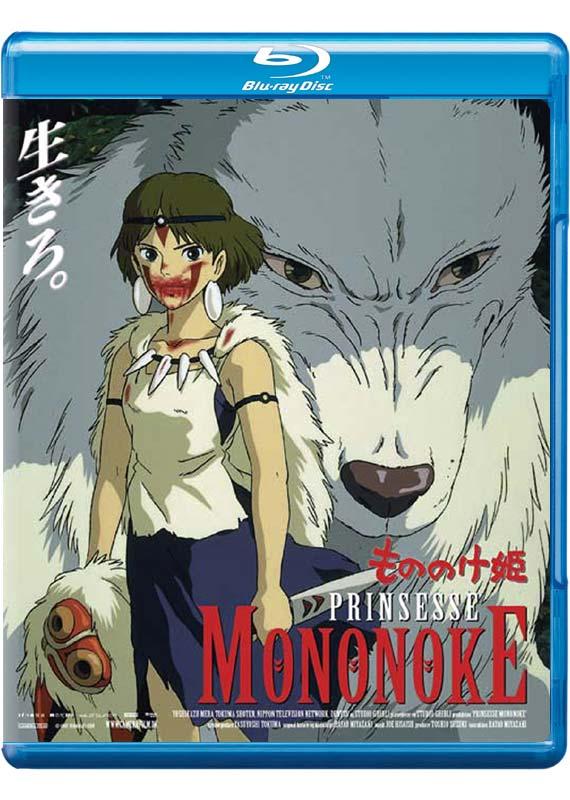 Prinsesse Mononoke - Hayao Miyazaki - Film - Studio Ghibli - 5705535059510 - Nov 2, 2017