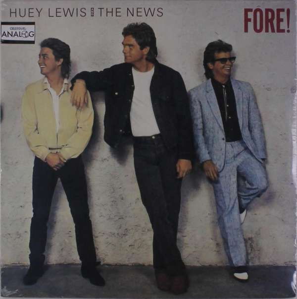 Fore - Huey Lewis & The News - Musik -  - 0093652744514 - 9/1-2018