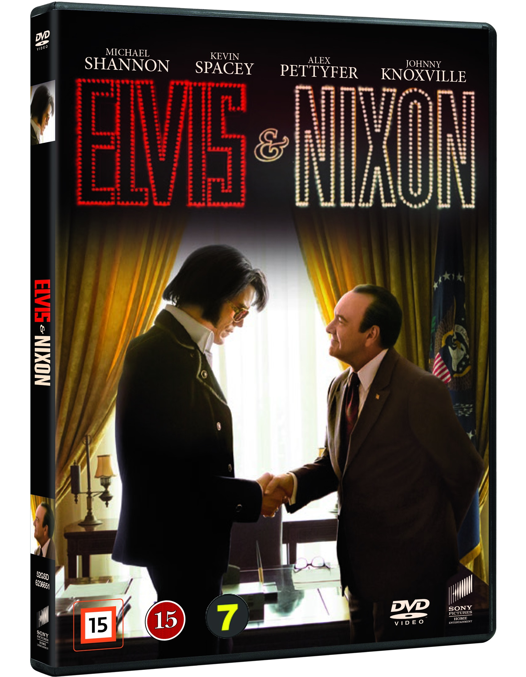 Elvis & Nixon - Kevin Spacey / Johnny Knoxville - Film - Sony - 5051162366515 - August 4, 2016