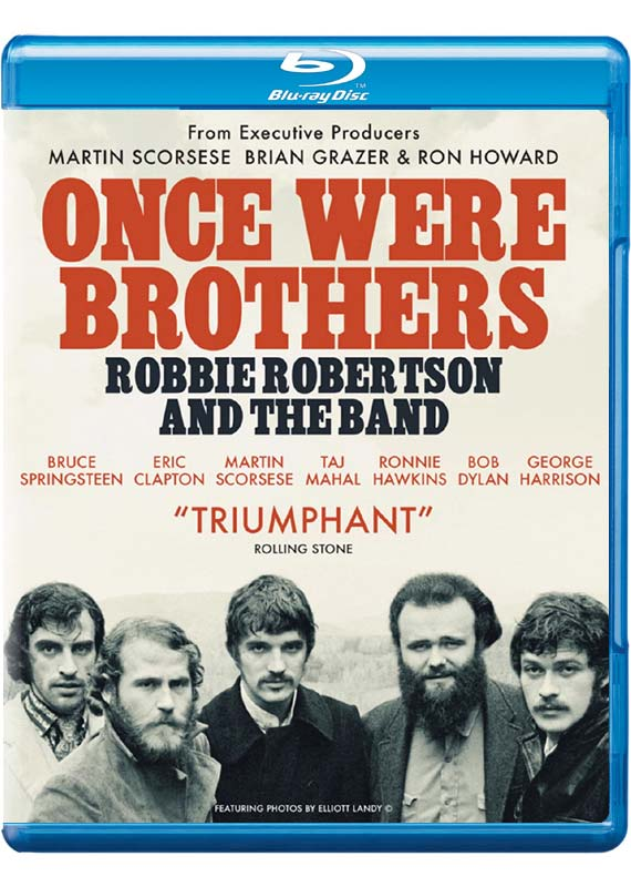 Once Were Brothers: Robbie Robertson and the Band - Documentary - Film - DAZZLER - 5060352309515 - September 11, 2020