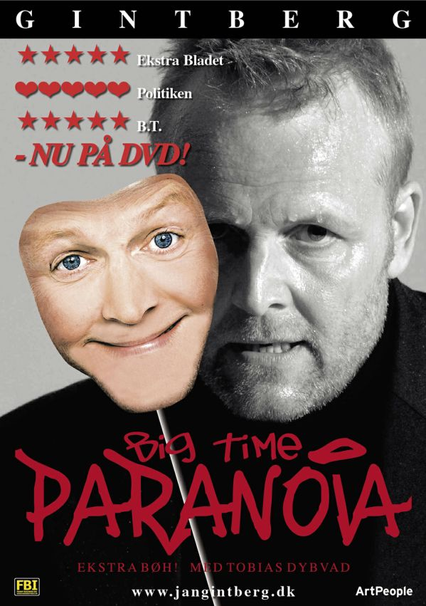 Big Time Paranoia - Jan Gintberg - Film - ArtPeople - 5707435601516 - November 5, 2007