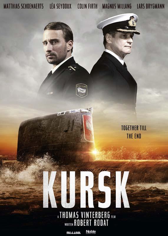Kursk - Thomas Vinterberg - Film -  - 5705535063517 - 6. juni 2019
