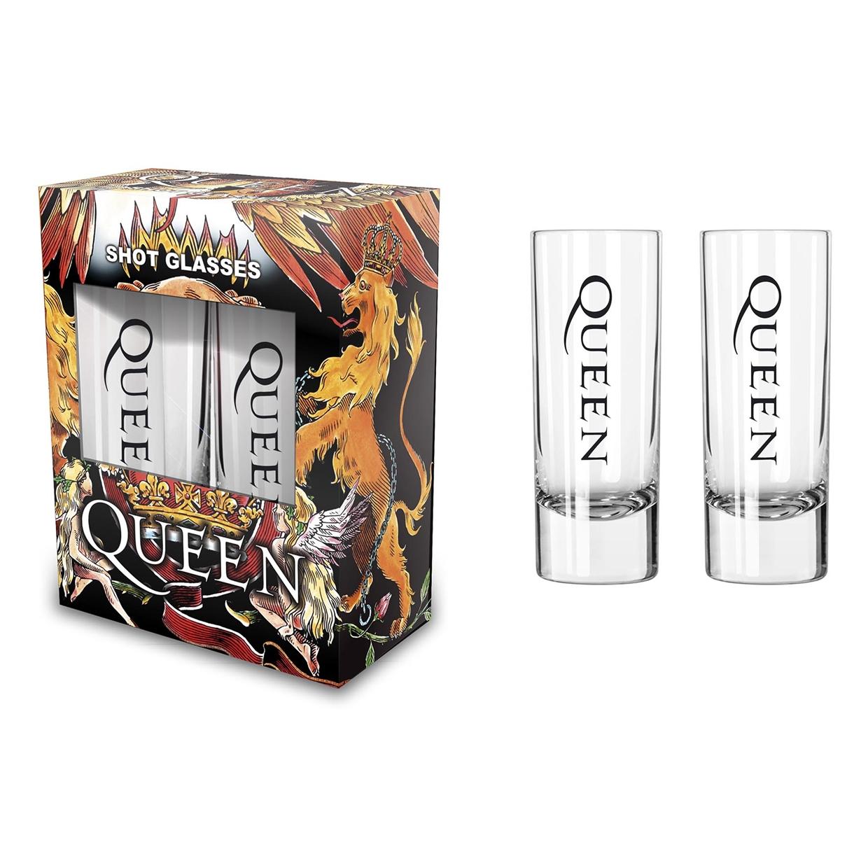 Crest (Shot Glasses) - Queen - Merchandise - PHD - 5055339799519 -