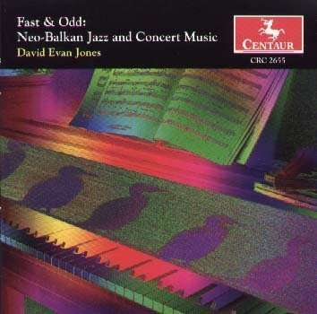 Electric Paidushko: 5/8 Time - Jones / Neo-balkan Ensemble - Musik -  - 0044747265520 - 31/12-1999