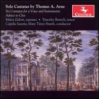 Solo Cantatas - T. Arne - Musik - CENTAUR - 0044747281520 - 18/4-2013