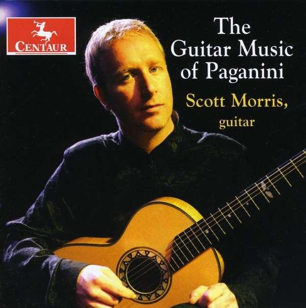 Guitar Music of Paganini - Scott Morris - Musik - CENTAUR - 0044747294520 - 30/4-2014