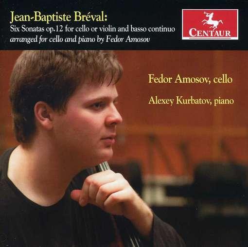 6 Sonatas Op.12 for Cello - J.b. Breval - Musik - CENTAUR - 0044747319520 - December 4, 2012