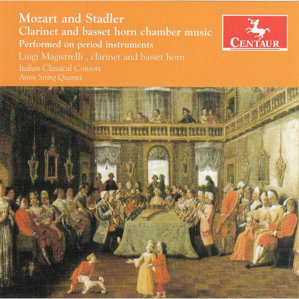 Clarinet and Basset Horn - Luigi Magistrelli - Musik - CENTAUR - 0044747335520 - March 27, 2015