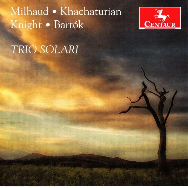 Trio Solari - Trio Solari - Musik - CENTAUR - 0044747348520 - November 16, 2016