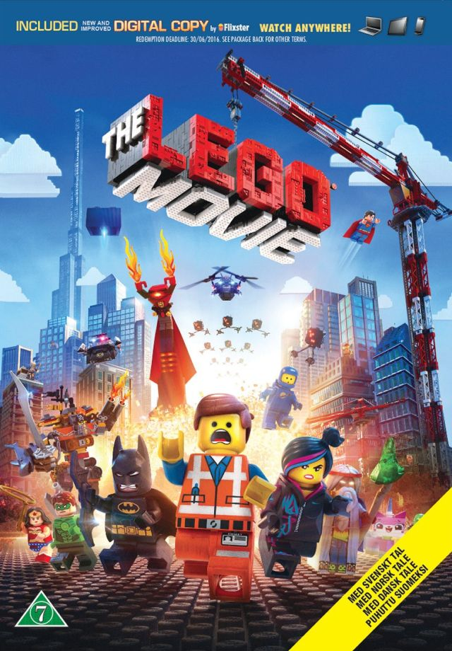 The LEGO Movie -  - Film - Warner Bros. - 5051895255520 - 23. juni 2014