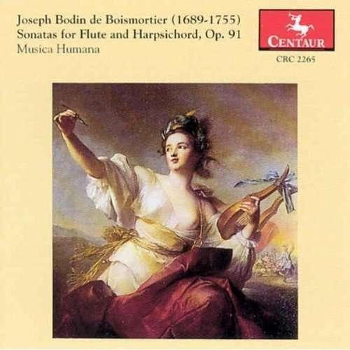 Sonatas for Flute & Harpsichord 1-6 Op 91 - Boismortier / Stuhr-rommereim - Musik - CENTA - 0044747226521 - 18/6-1996