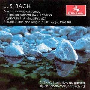 Sonatas / Prelude - Bach / Walhout / Schenkman - Musik - Centaur - 0044747271521 - 25/10-2005