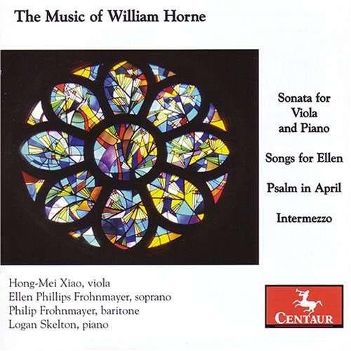 Music of William Horne - W. Horne - Musik - CENTAUR - 0044747284521 - 21/3-2012