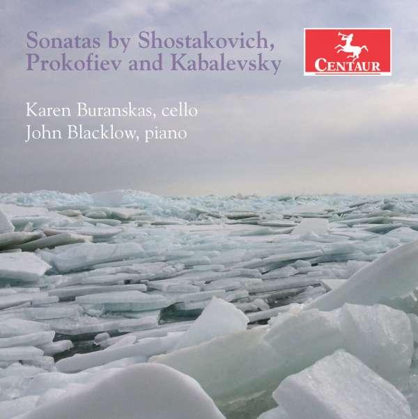 Sonatas by Shostakovich Prokofiev & Kabalevsky - Kabalevsky / Buranskas / Blacklow - Musik - CAV - 0044747341521 - 12/2-2016