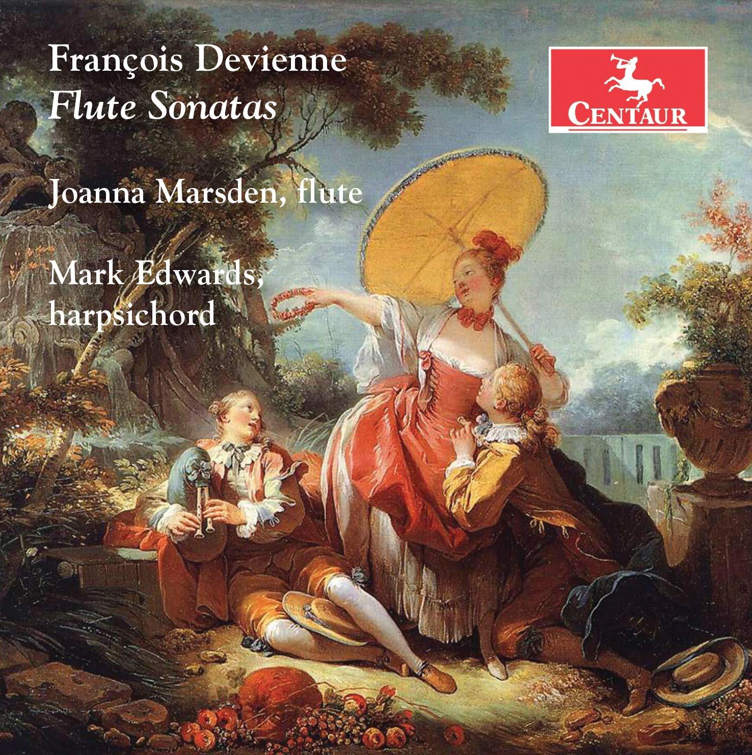 Flute Sonatas - Joanna Marsden - Musik - CENTAUR - 0044747367521 - September 13, 2019