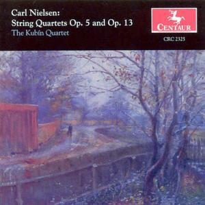 String Quartets in G Op 13: in F Minor Op 5 - Nielsen / Kubin - Musik - Centaur - 0044747232522 - 15/5-2000