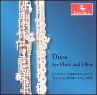 Duos for Flute & Oboe - Mozart / Jacob / Migot / Ginastera / Bozza - Musik - Centaur - 0044747277523 - 28/2-2006