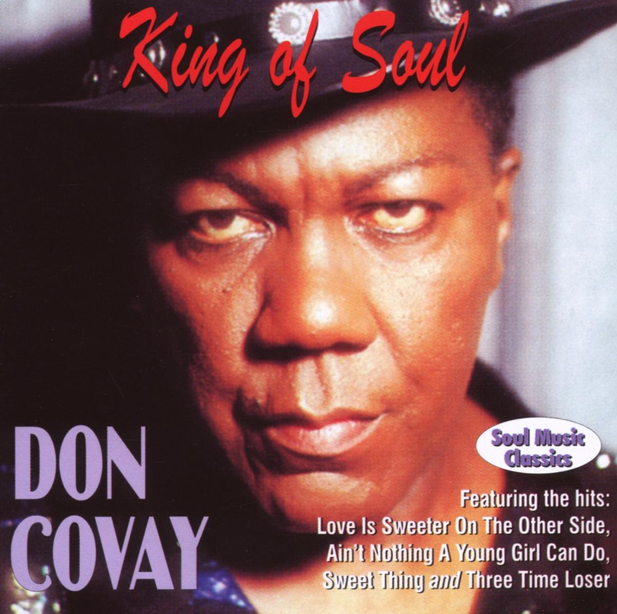 King Of Soul - Don Covay - Musik - AIM - 0752211108524 - February 24, 2020