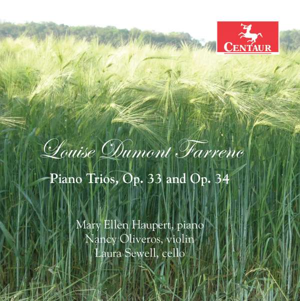 Piano Trios, Opp.33 & 34 - L. Farrenc - Musik - CENTAUR - 0044747343525 - September 7, 2018