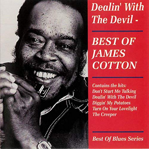 Dealin' With The Devil - James Cotton - Musik - AIM - 0752211200525 - January 15, 2021