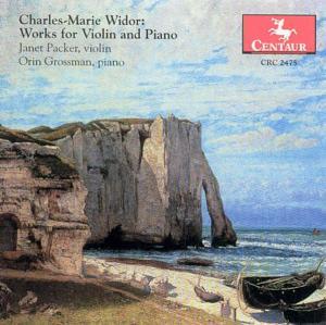 Works-Violin & Piano Centaur Klassisk - Packer Janet / Grossman Orin - Musik - DAN - 0044747247526 - 2000
