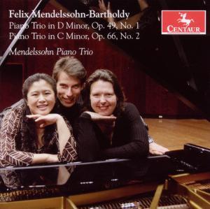 Piano Trios - Mendelssohn Piano Trio - Musik - CENTAUR - 0044747292526 - June 21, 2010