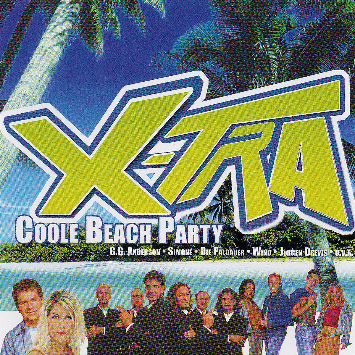 X-tra Coole Beach Party - V/A - Musik -  - 0044003845527 - 10/6-2003