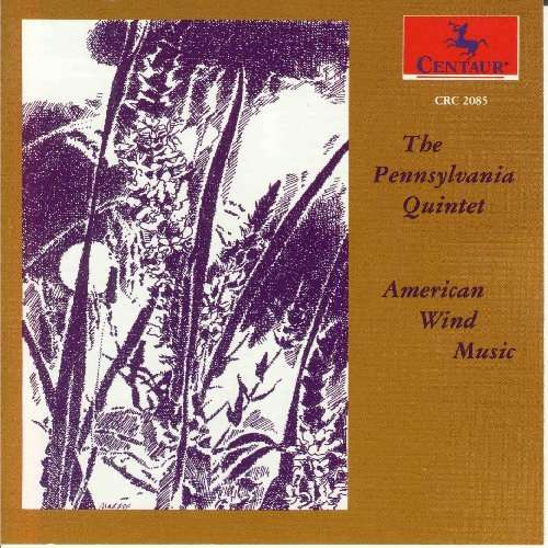 American Wind Music - Fine / Rochberg / Etler / Pennsylvania Quintet - Musik -  - 0044747208527 - 9/11-1993