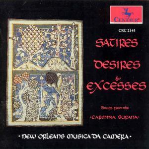 Satires Desires & Excesses - New Orleans Musica Da Camera - Musik - CENTAUR - 0044747214528 - 30/4-2014