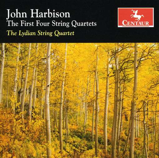First Four String Quartets - J. Harbison - Musik - CENTAUR - 0044747298528 - 18/4-2013