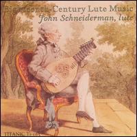 Eighteenth-century Lute Music - John Schneiderman - Musik - Titanic - 0045591016528 - January 2, 2006