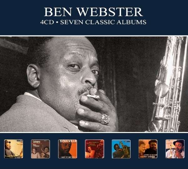 Seven Classic Albums - Ben Webster - Musik - REEL TO REEL - 5036408212528 - 21/6-2019
