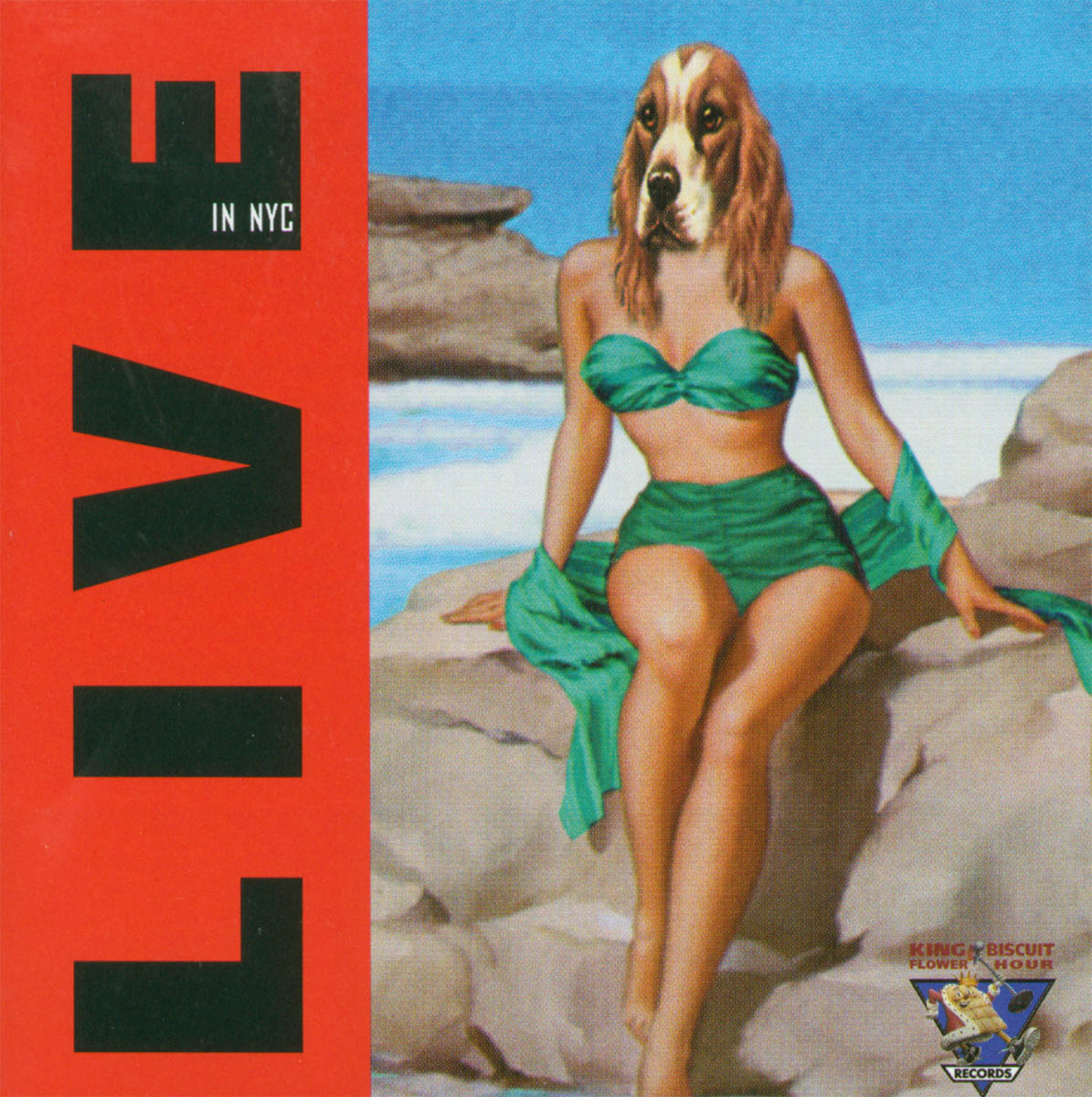 Live in Nyc - Iggy Pop - Musik - Kbc - 0707108805529 - July 11, 2000