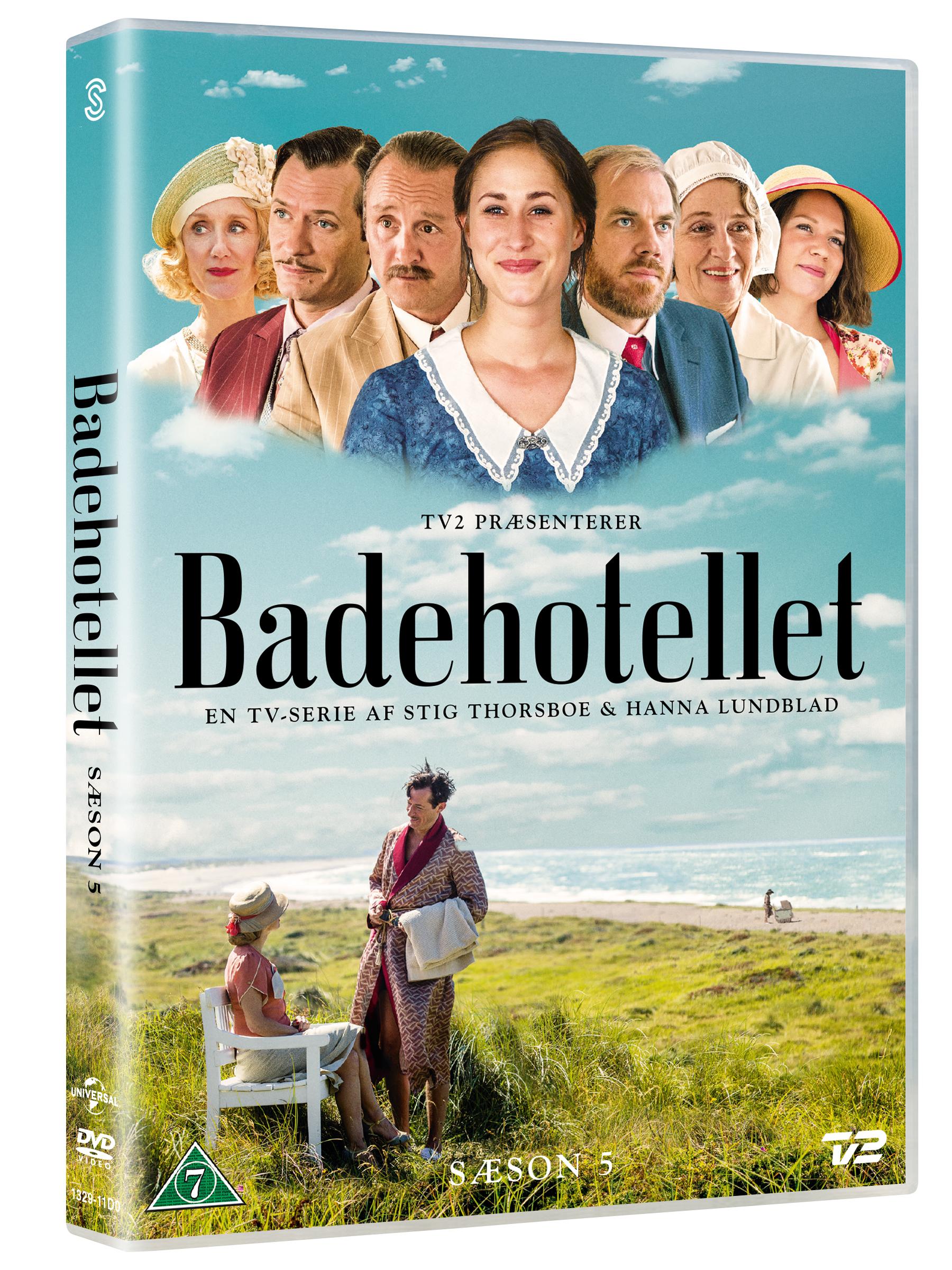 Badehotellet - Sæson 5 - Badehotellet - Film -  - 5706169001531 - 28/1-2021
